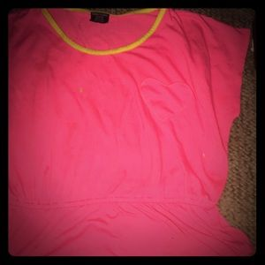 Other - A bright pink shirt